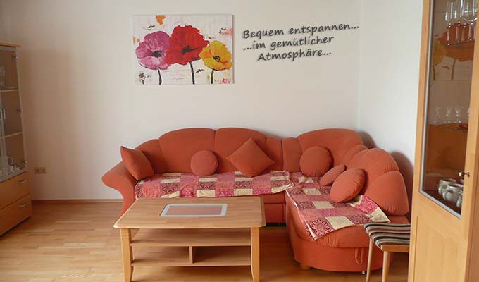 Wohnzimmer Fewo Einberger